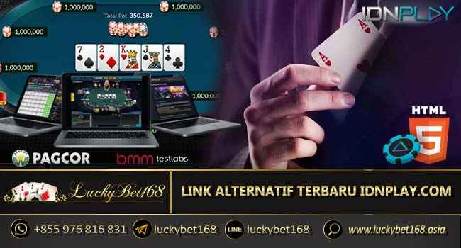 LINK ALTERNATIF TERBARU IDNPLAY.COM